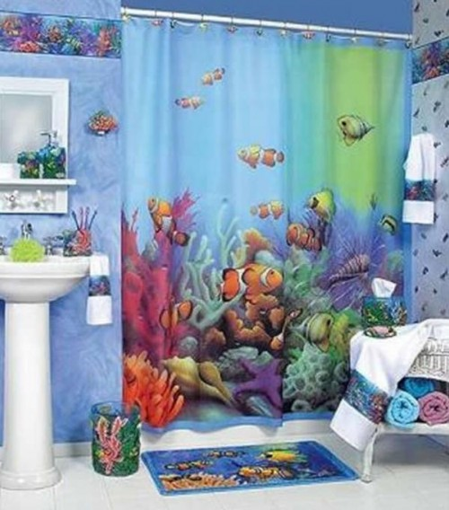 49 Beautiful Beach And Sea Themed Bedroom Designs: Beautiful And Elegant Sea Themed Bathroom