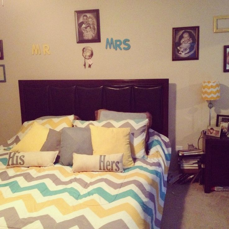 Yellow and gray bedroom decor neutral meets cheerful for Bedroom ideas yellow and grey