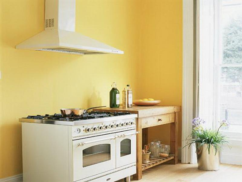 Pastel Tone Good Color To Paint A Kitchen Homesfeed: yellow paint for kitchen walls