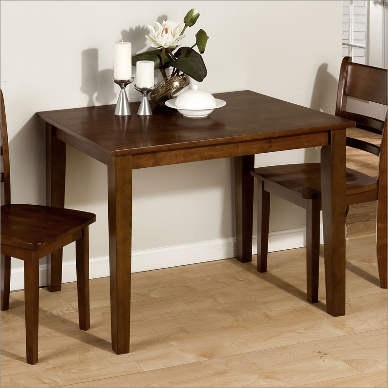 small rectangular dining table for tiny dining room space decorated
