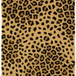 sophisticated cheetah print rugs for home decorating ideas