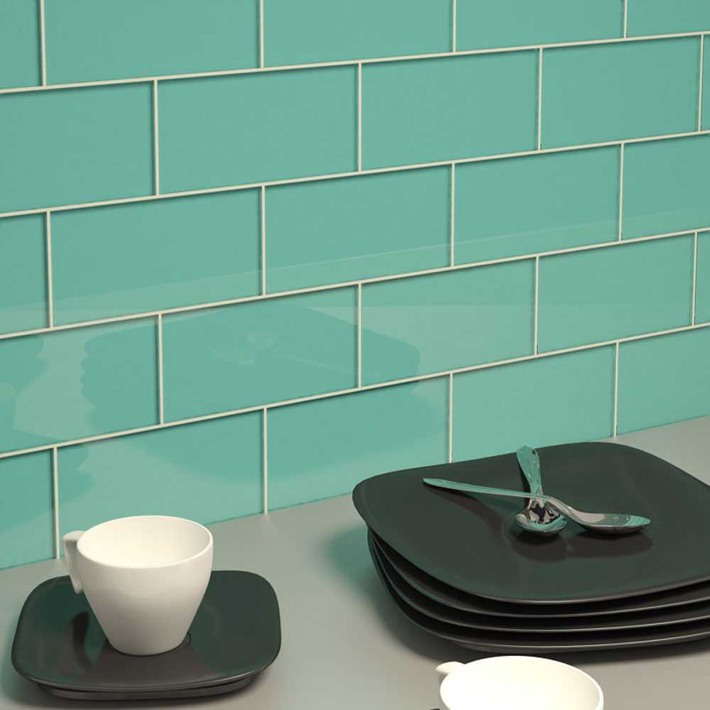 Upgrade Your Monotonous Subway Tile Into A Colored Subway