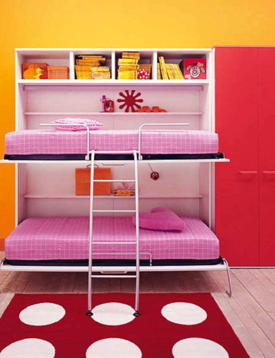 Complete Your Simple Bedroom With Low Profile Bunk Bed