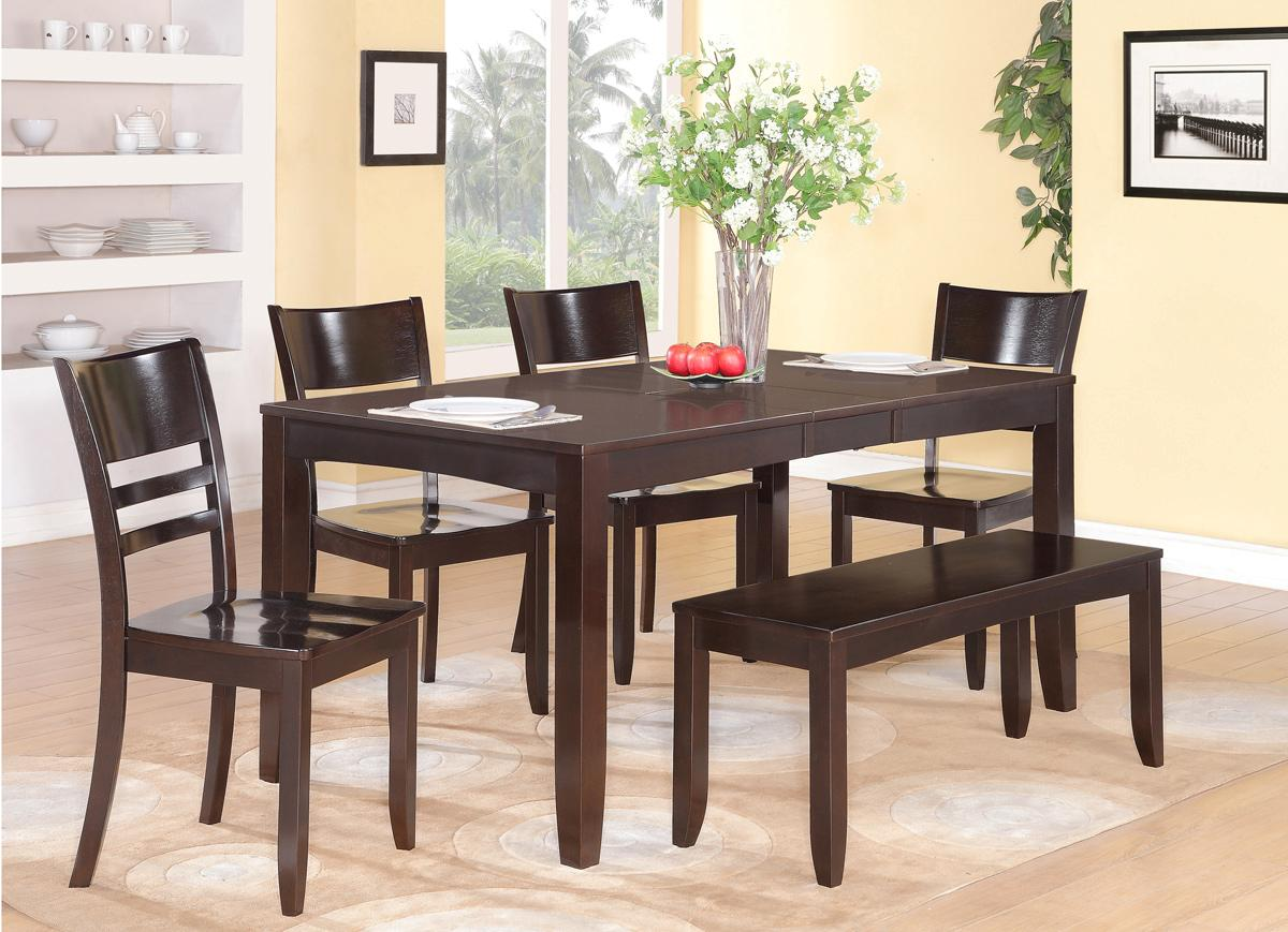 The small rectangular dining table that is perfect for for Dining room table with bench