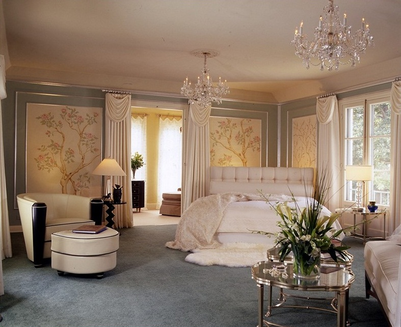 Old hollywood glamour decor the timeless decor with for Glamorous bedroom pictures