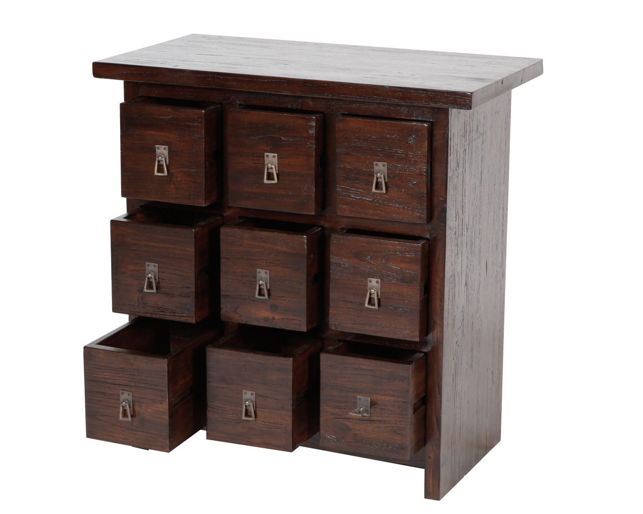 traditional dark cd storage with 9 drawers made of solid wood  sc 1 st  HomesFeed & CD Storage Drawers: A lovely Storage to Store Your CD Collections ...