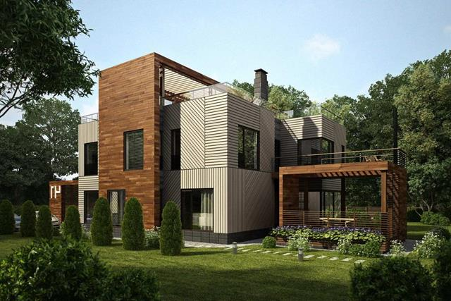 Perfect forest house ideas heaven for nature lover for Forest house plans