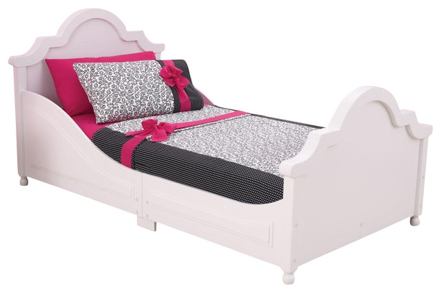 White Raleigh Toddler Bed By Kidkraft With Fun