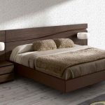 wondeful low profile platform bed frame for traditional bedroom style decorated with comfy bedding set and rustic hardwood floor and grey rug