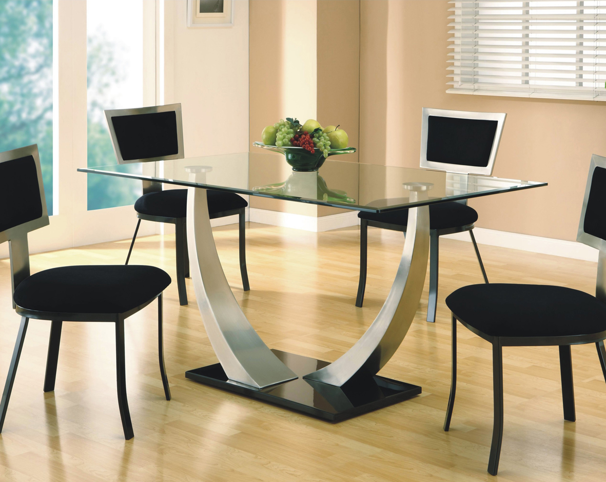 all glass dining table – luxurious set for perfect dinner | homesfeed
