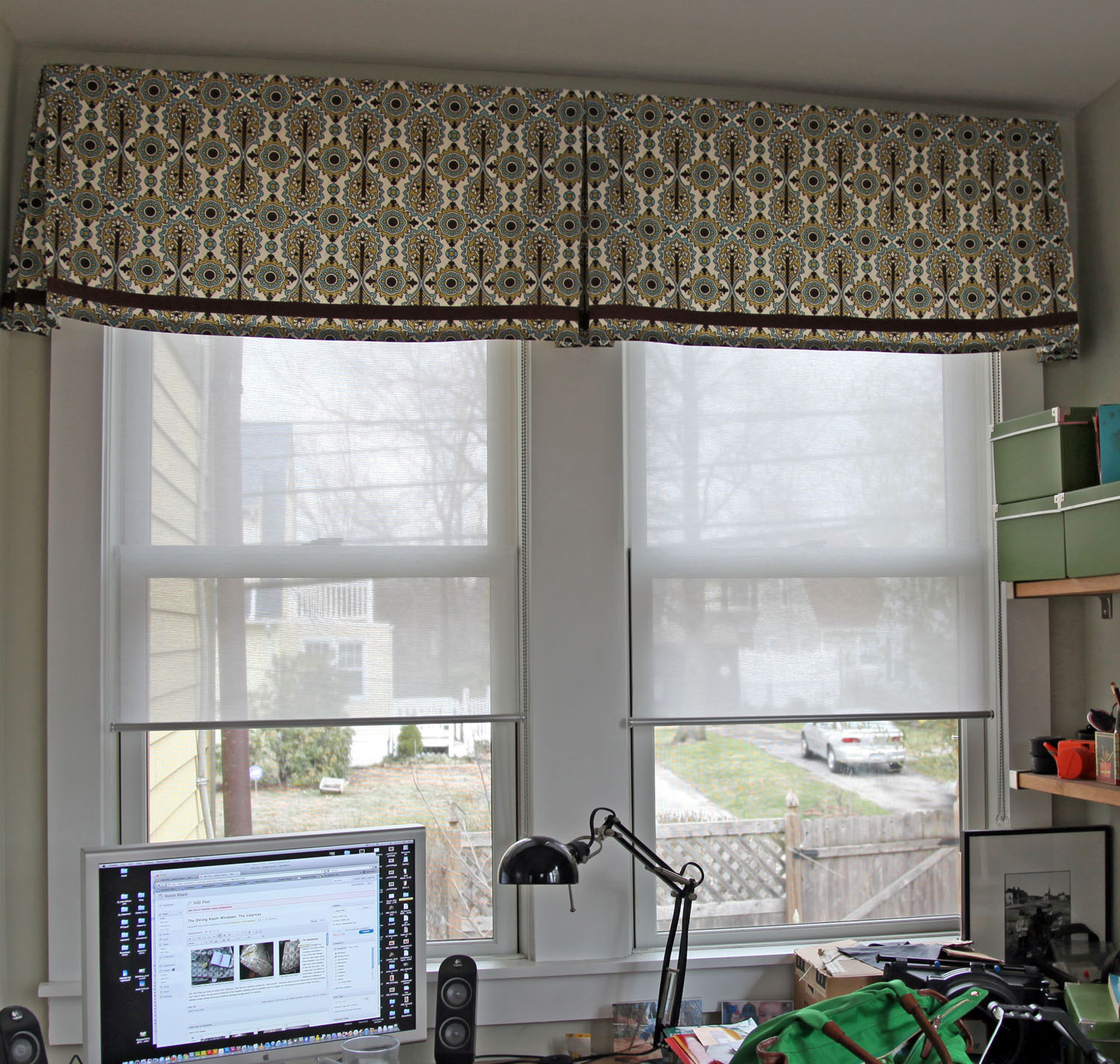 the valances depot n valance blackout canova curtain brown scarves b window polyester chocolate home treatments eclipse