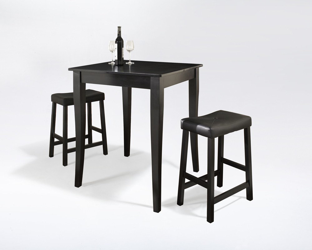 comfortable pub tables and stools for interesting home ideas homesfeed. Black Bedroom Furniture Sets. Home Design Ideas