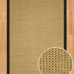 Awesome Sisal Rug With Friendly Fabric