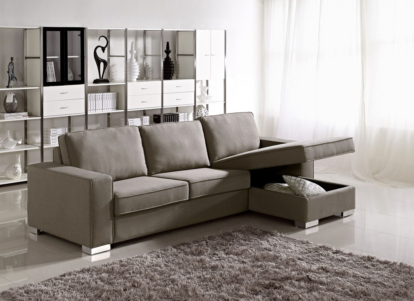Apartment Size Sleeper Sofa Design | HomesFeed