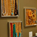 Artistic Fabric Cork Board For Jewelries