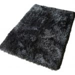 Aurora Black Fur Rug