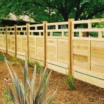 Awesome Design Shape Of Backyard Fencing Ideas