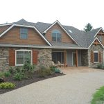 Awesome Siding Options for Homes With Front Garden Design
