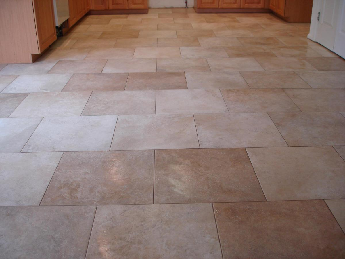Kitchen Floor Tile Paint Kitchen Floor Kitchen Flooring In The Form Of Small Square Stone