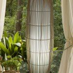 Beautiful Wicker Table Lamps