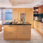 Beautiful Wooden Island Kitchen Units