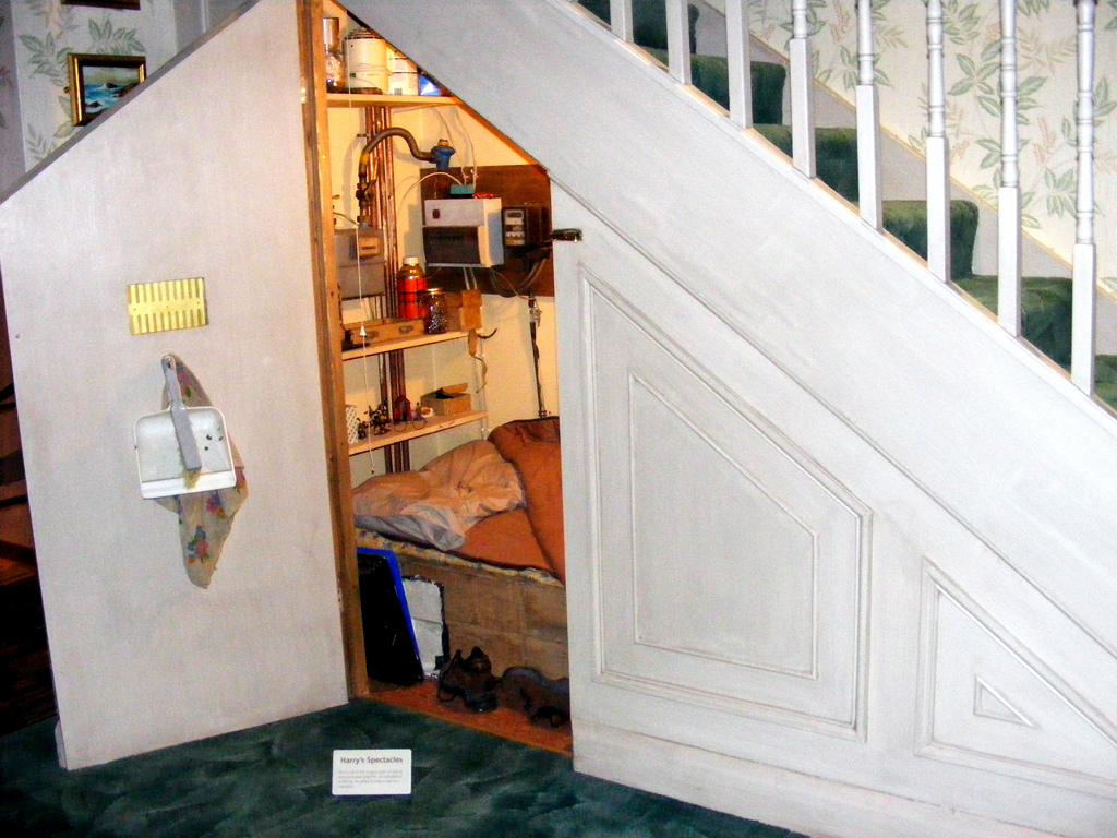 Bedroom In Cupboard Under The Stairs