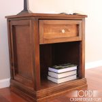 Bedside Table Height With Drawer And Shelf For Books