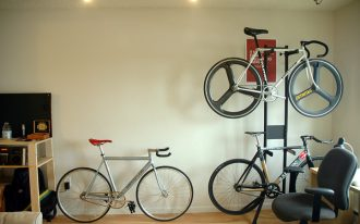 Bike rack idea