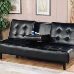 Black Fold Down Couch