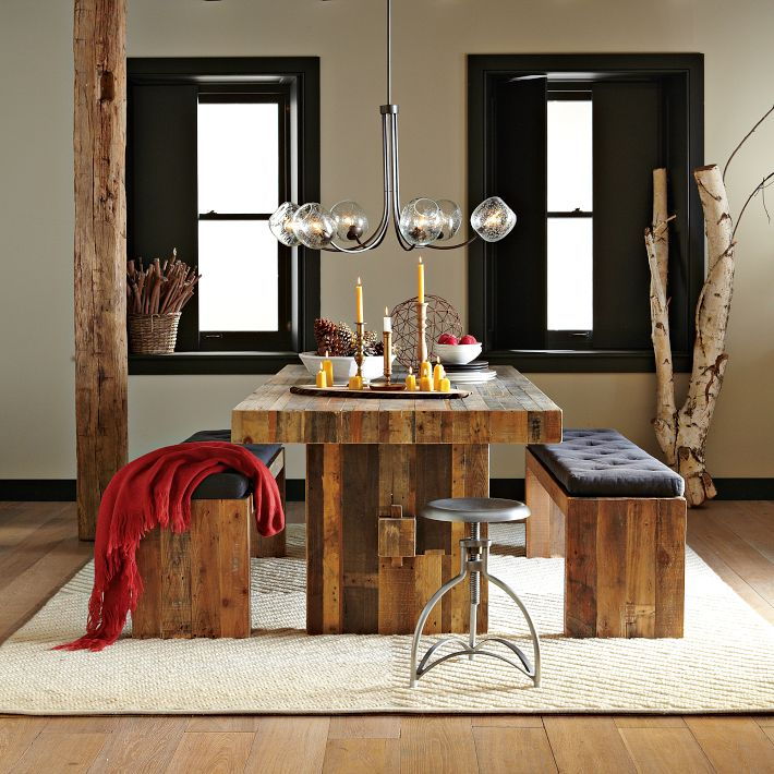 Emmerson Dining Table Rustic Value Maker HomesFeed