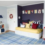Blue Light Color Interior Paint 2014 For Bedroom With Decorative Carpet And White Furniture