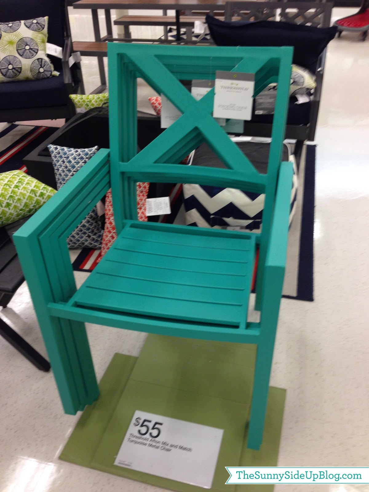 Blue Wooden Target Patio Chairs & Get to Know More About Target Patio Chairs | HomesFeed