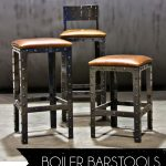 Boiler Industrial Style Bar Stools