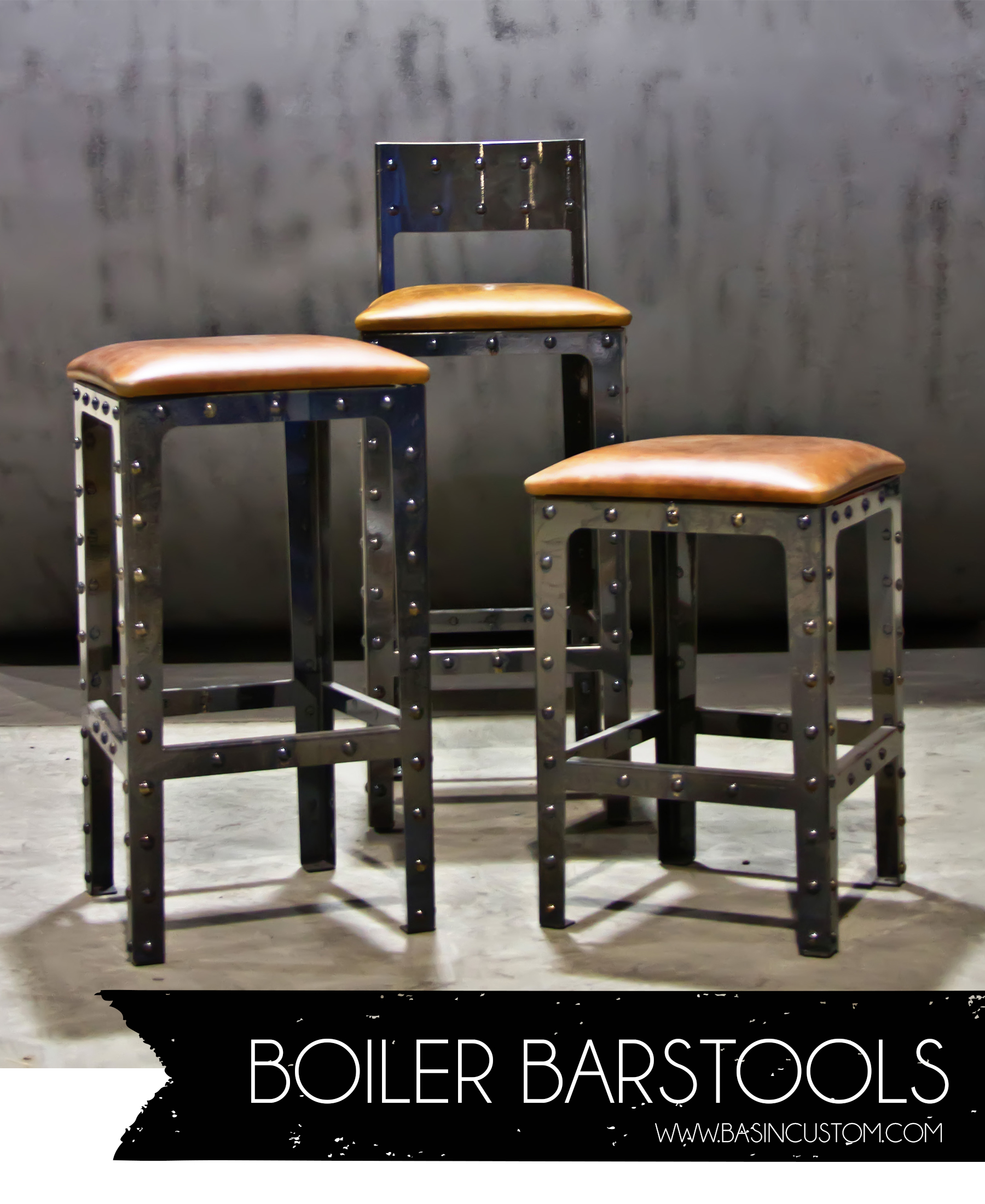 Awesome Industrial Style Bar Stools HomesFeed : Boiler Industrial Style Bar Stools from homesfeed.com size 1800 x 2200 jpeg 1312kB