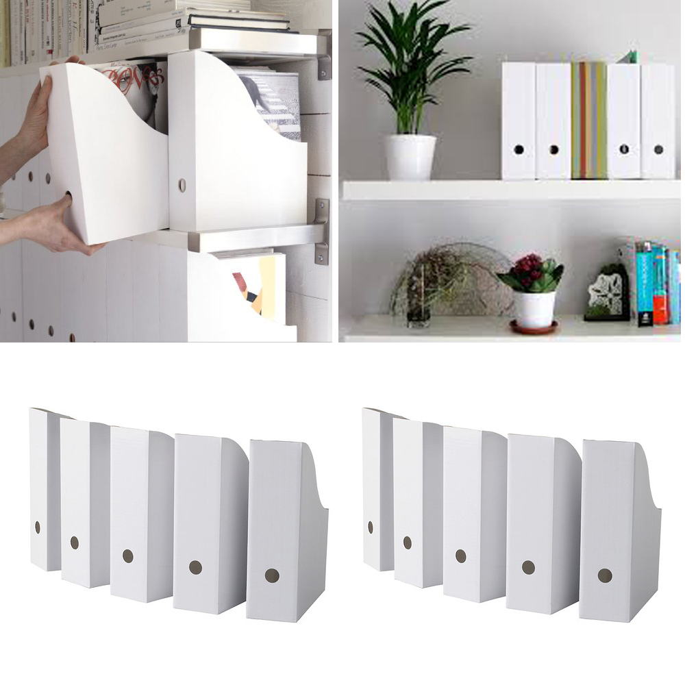 book and workpaper organizer desk with white color of ikea