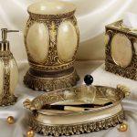 Bronze Luxury Bath Accessories Sets