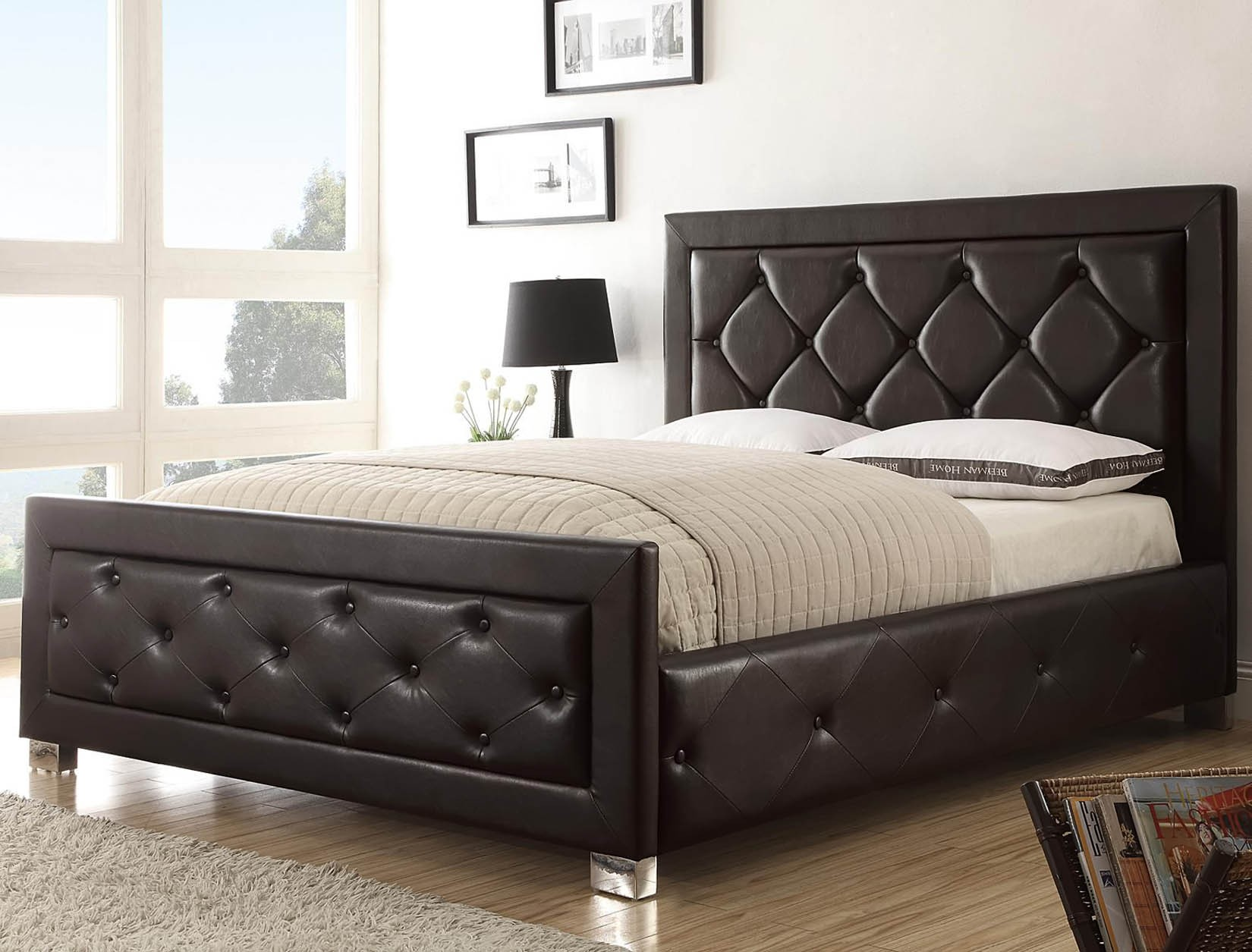 Cal king headboards design homesfeed Decorative headboards for beds