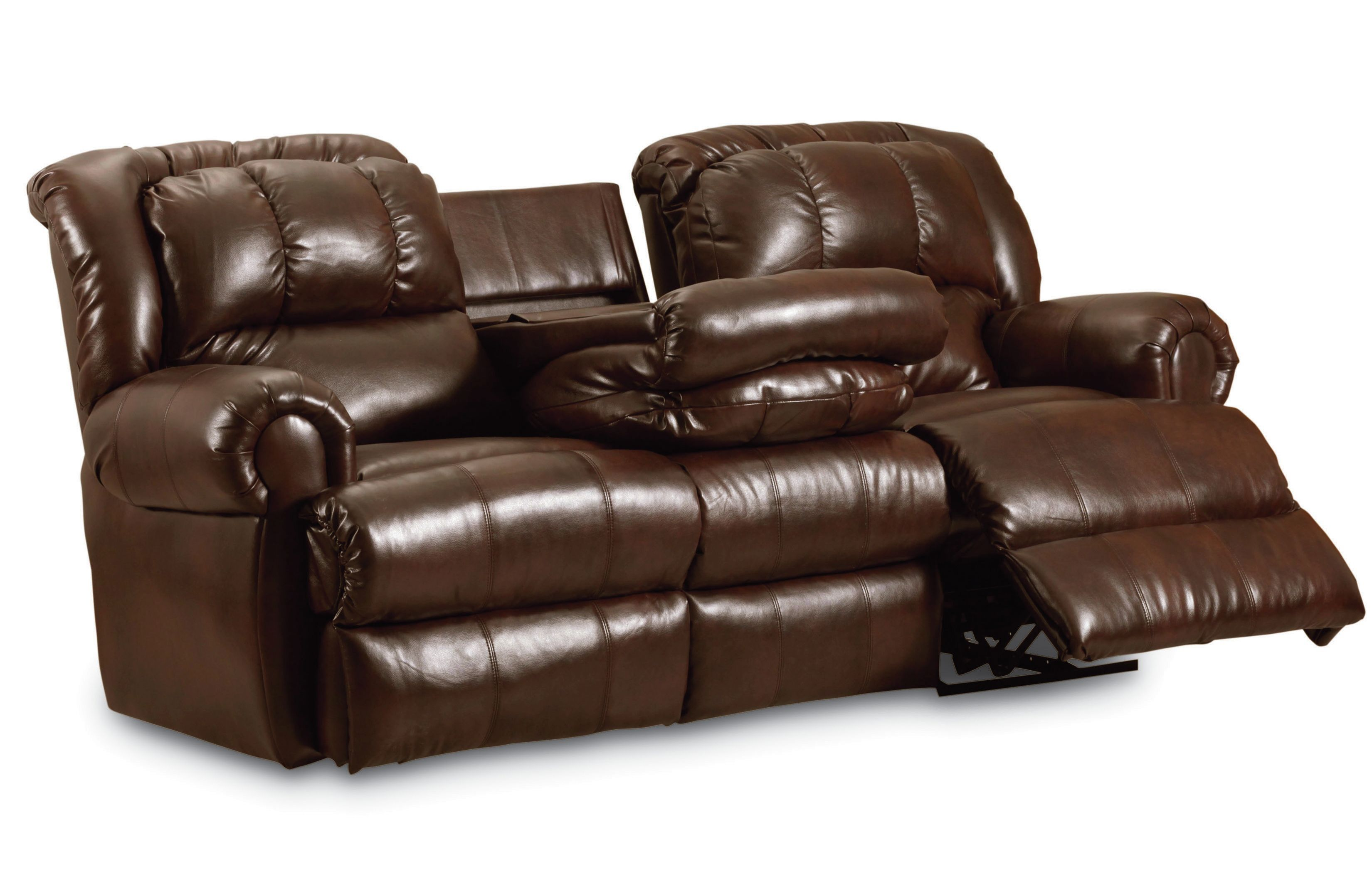 Fold Down Couch Relax In Living Room Homesfeed ~ Dual Reclining Sofa With Drop Down Table