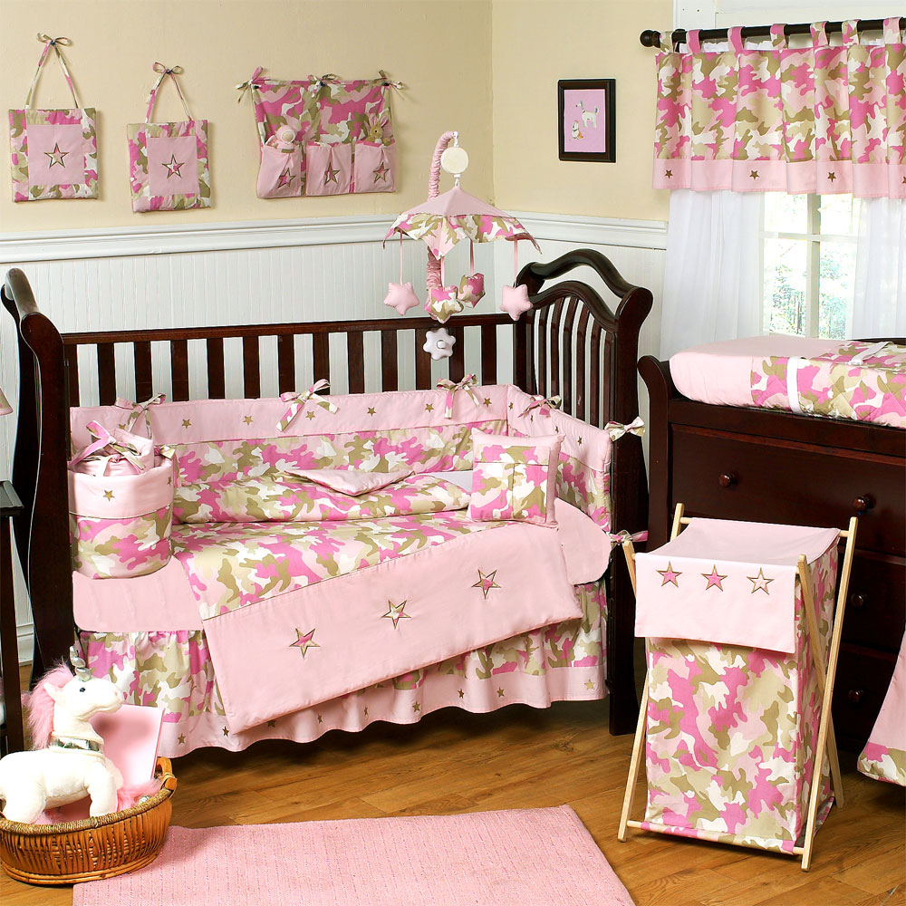 Bedding sets for cribs ideas homesfeed for Drapes over crib