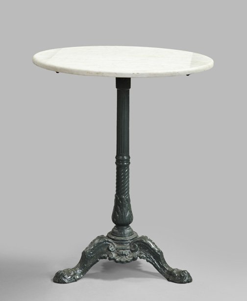 Marble Top Bistro Table For Home Or Cafe Homesfeed