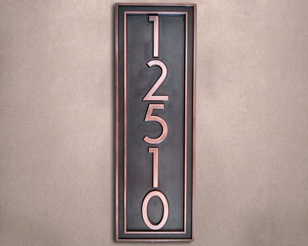 Hanging Address Signs Images Of Vertical Address Plaques All Can Download  All Guide