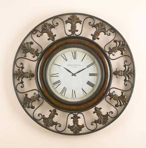 Decorative Fancy Wall Clocks Homesfeed