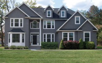 Colonila Grey With Siding Options for Homes