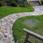 Concrete Garden Footpath Designs