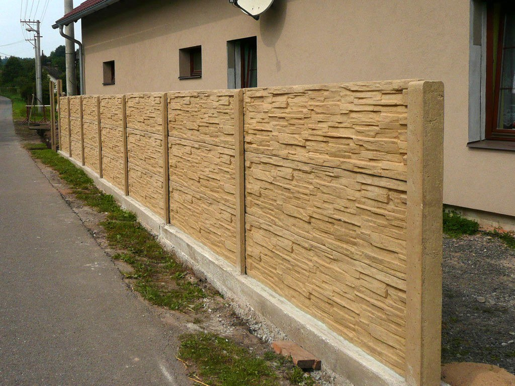 Concrete Fence Walls : Wall fence panels appliance homesfeed
