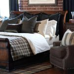 Contemporary Bedding With High End Linens And Recliner