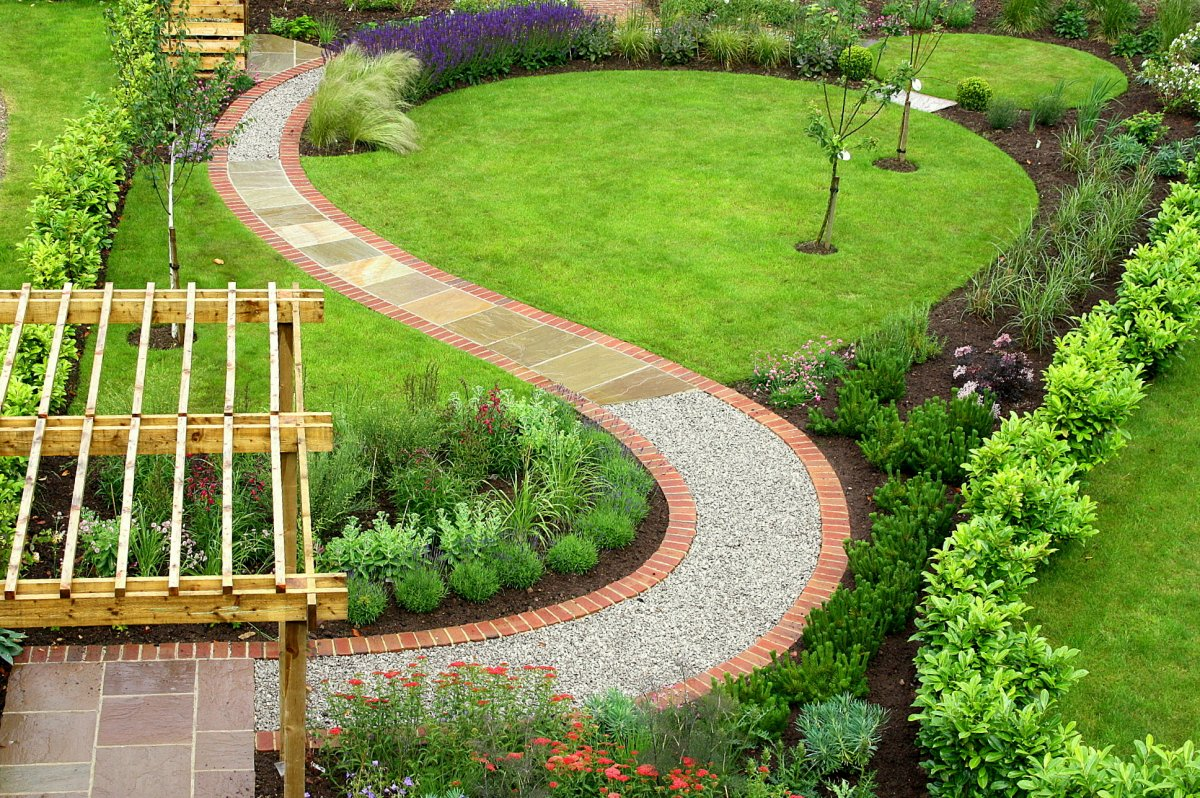 Backyard Pathways Designs artistic backyard pathways designs with rocks and stones 3 Cool Garden Footpath Designs With Stone