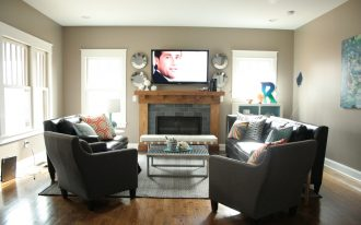 Cool Living Room Furniture Arrangement With Modern Layout