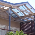 Cool Polycarbonate Roof Panels On Home Roof