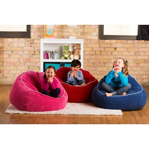 Corduroy Beanbag Chair XL CircoTM Upholstered In A